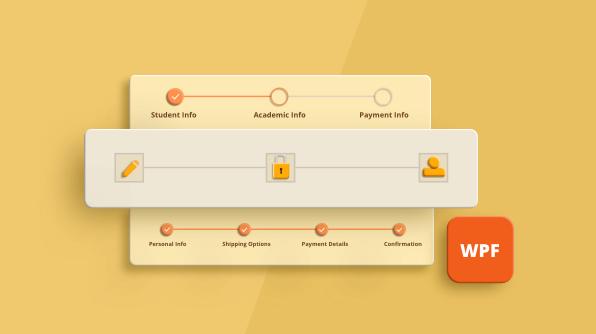 New WPF Step ProgressBar to Track Multi-Step Process