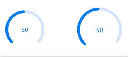 Corner radius in circular ProgressBar