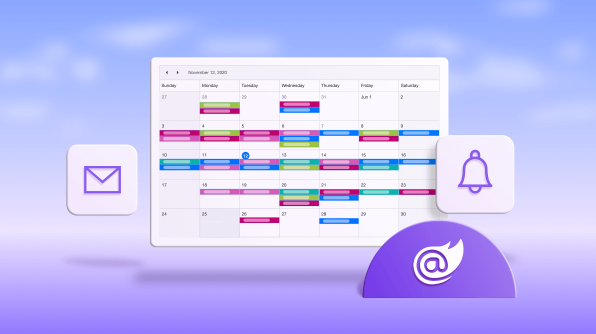 How to Send Emails and Reminders for Events in Blazor Scheduler