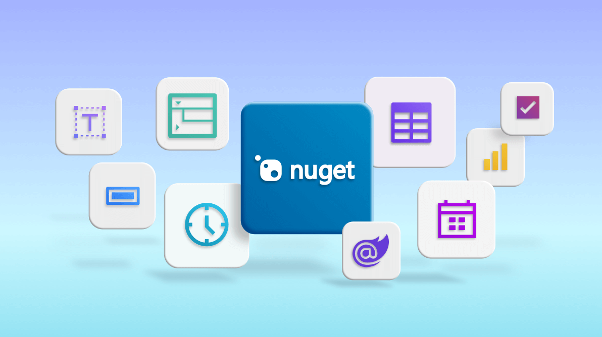 Introducing Individual NuGet Packages for Syncfusion Blazor UI Components