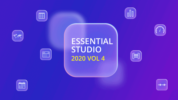 Syncfusion Essential Studio 2020 Volume 4 Is Here!