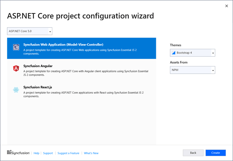 ASP .NET Core Configuration Wizard