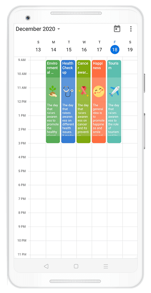 Custom Appointment View in Flutter Event Calendar