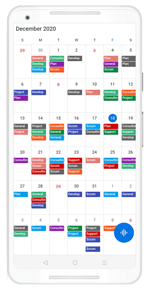 Custom Cell-End Padding in Flutter Event Calendar
