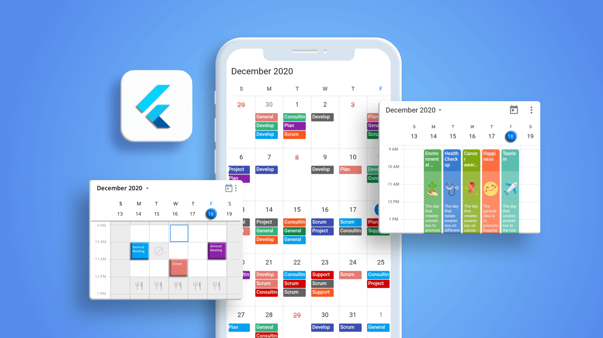 What's New in 2020 Volume 4: Flutter Event Calendar
