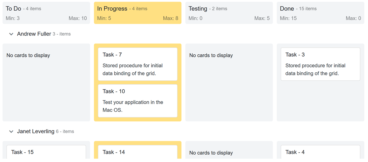 Work-in-Progress Validation