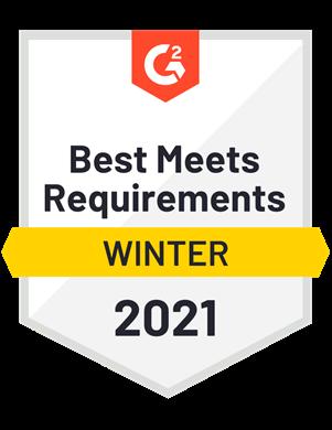 Best Meets Requirements—Winter 2021