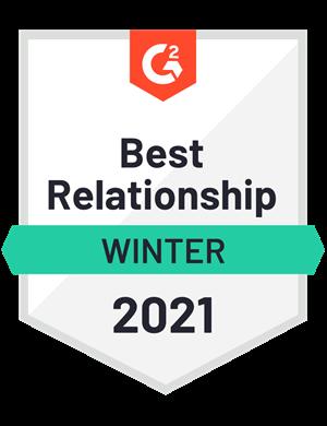Best Relationship—Winter 2021