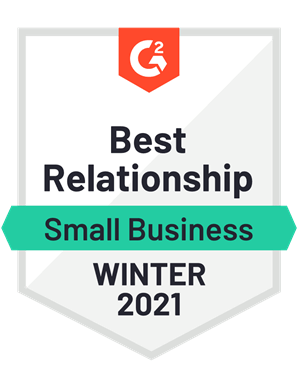 Best Relationship, Small Business—Winter 2021