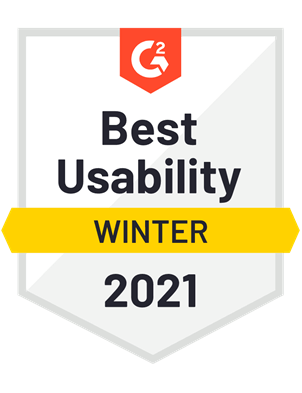 Best Usability—Winter 2021