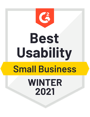 Best Usability, Small Business—Winter 2021
