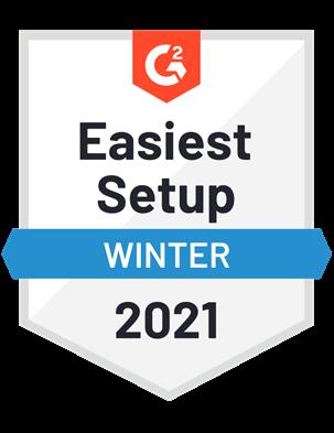 Easiest Setup—Winter 2021