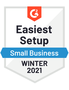 Easiest Setup, Small Business—Winter 2021