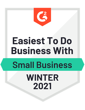 Easiest to Do Business With, Small Business—Winter 2021