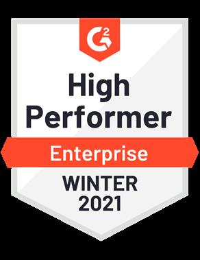 High Performer, Enterprise—Winter 2021