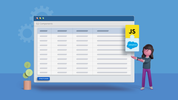 Easily Configure Syncfusion JavaScript UI Controls in Salesforce