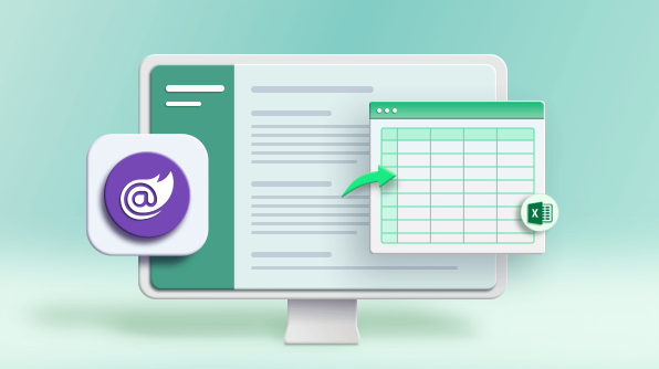 Easily Export Data to Excel Files in Blazor