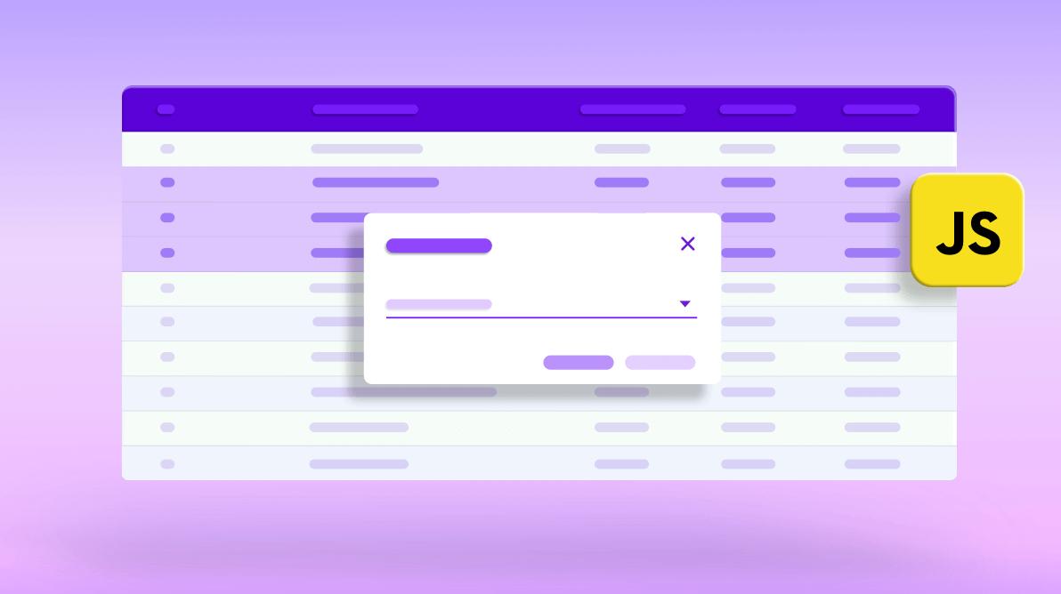 How to Bulk Edit Columns in JavaScript DataGrid