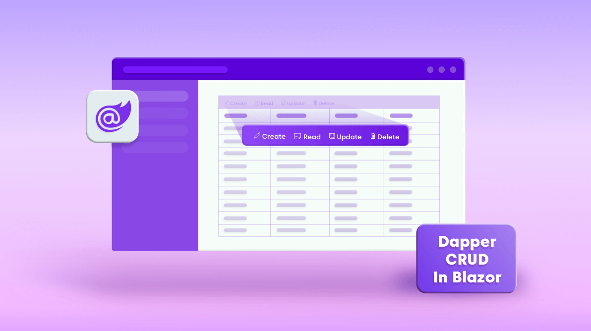 How to build a Blazor CRUD application with Dapper