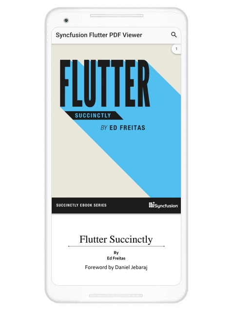 Main Page of Flutter PDF Viewer