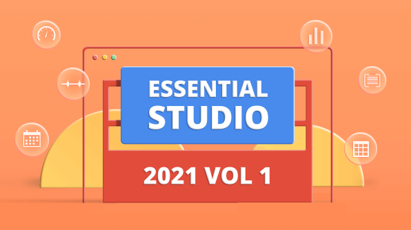 Syncfusion Essential Studio 2021 Volume 1 Is Here!