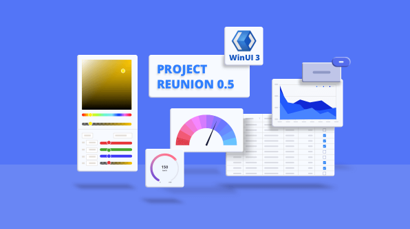 Syncfusion WinUI Controls Are Compatible with WinUI 3 Project Reunion 0.5!