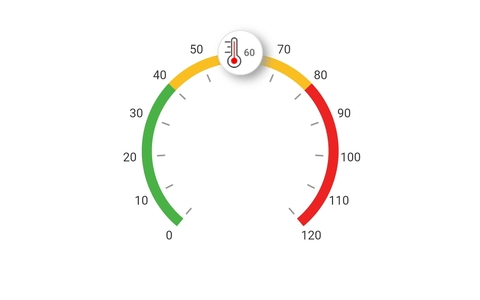 Custom Widget as a Pointer in Flutter Radial Gauge