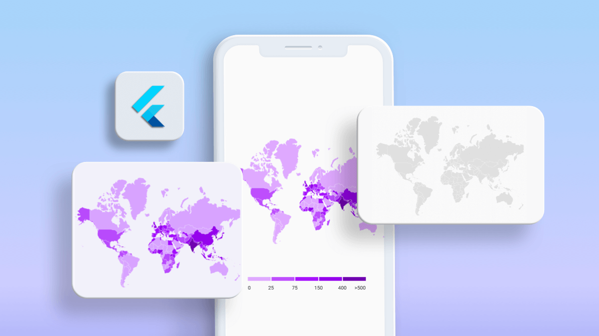 How to Create a Choropleth Map in a Flutter Application
