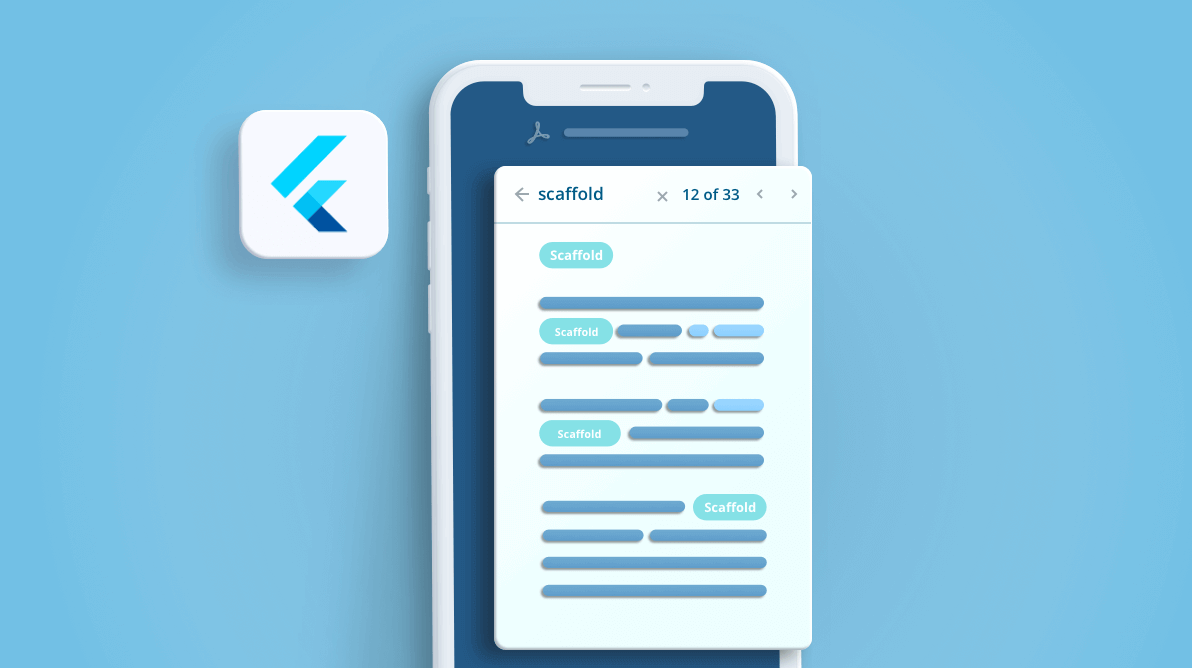 How to perform text search over the PDF document using Flutter PDF Viewer