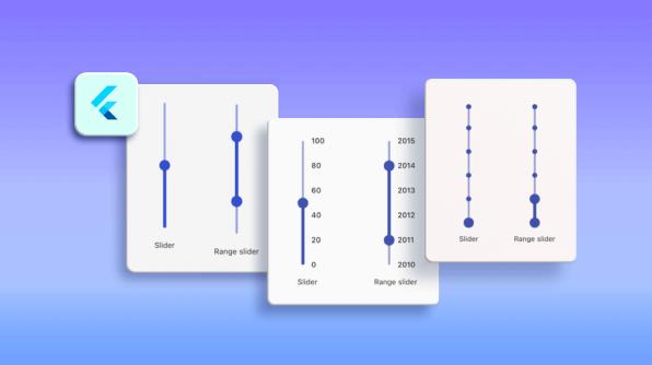 Introducing Vertical Slider and Vertical Range Slider in Flutter