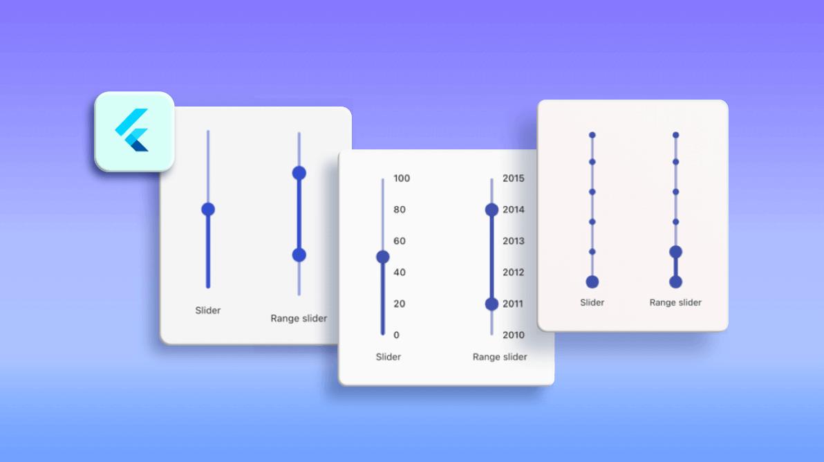 Introducing a Vertical Slider and Vertical Range Slider in Flutter