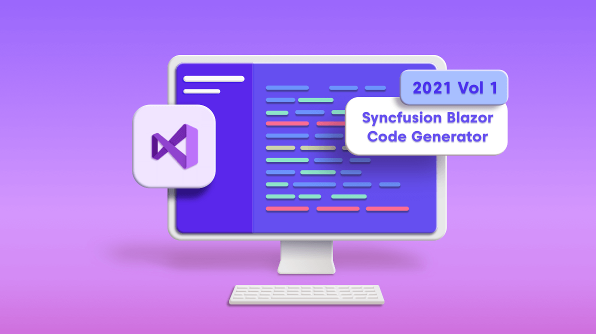Introducing the Syncfusion Blazor Code Generator for Visual Studio