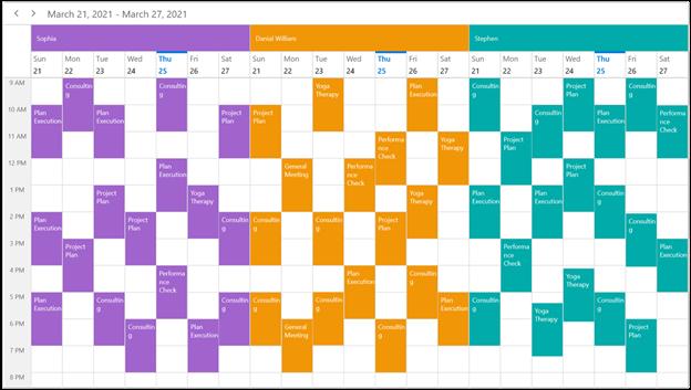 Resource Grouping in WinUI Scheduler