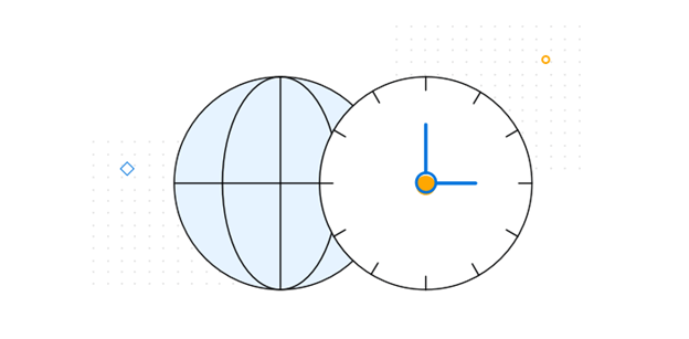 Utilize Different Time Zones in a Schedule