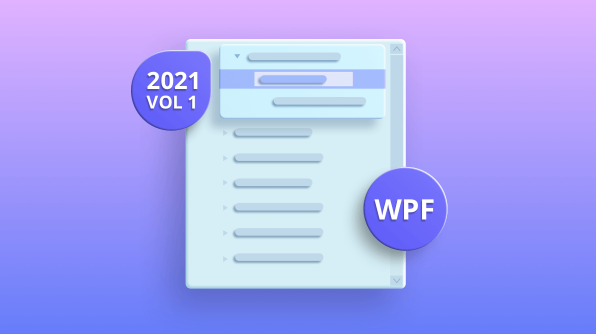 What's New in 2021 Volume 1: WPF TreeView