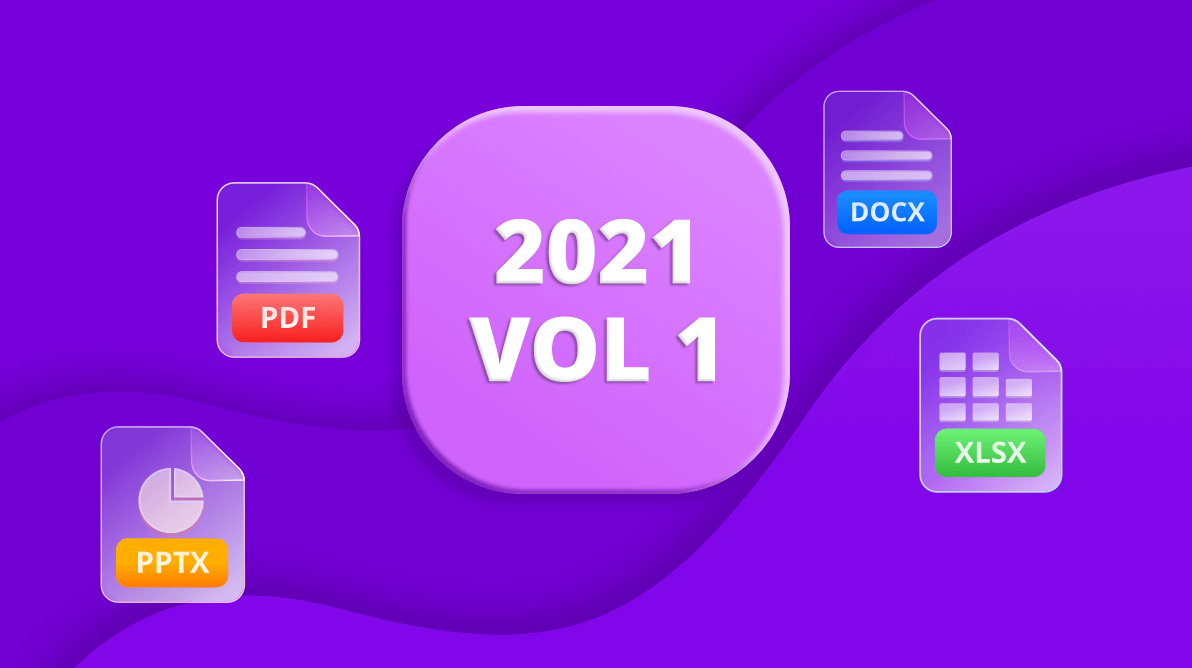 Whats New in 2021 vol 1 - File Format