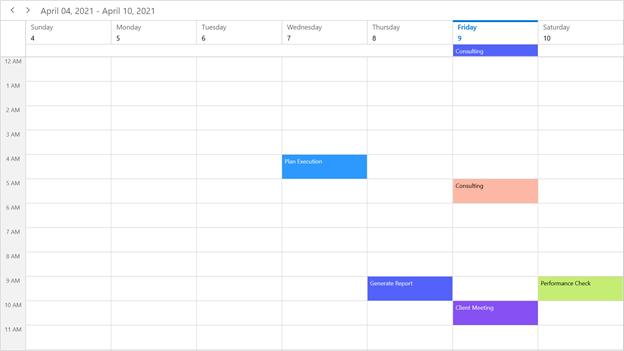 WinUI 3 Project Reunion Scheduler