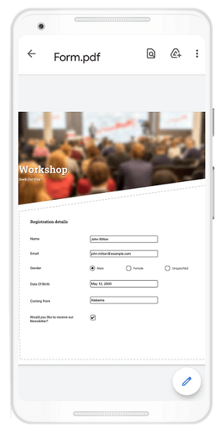 Working with PDF Forms in Flutter