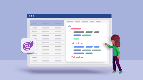 ASP.NET Core Blazor Component Virtualization in .NET 5 – An Overview