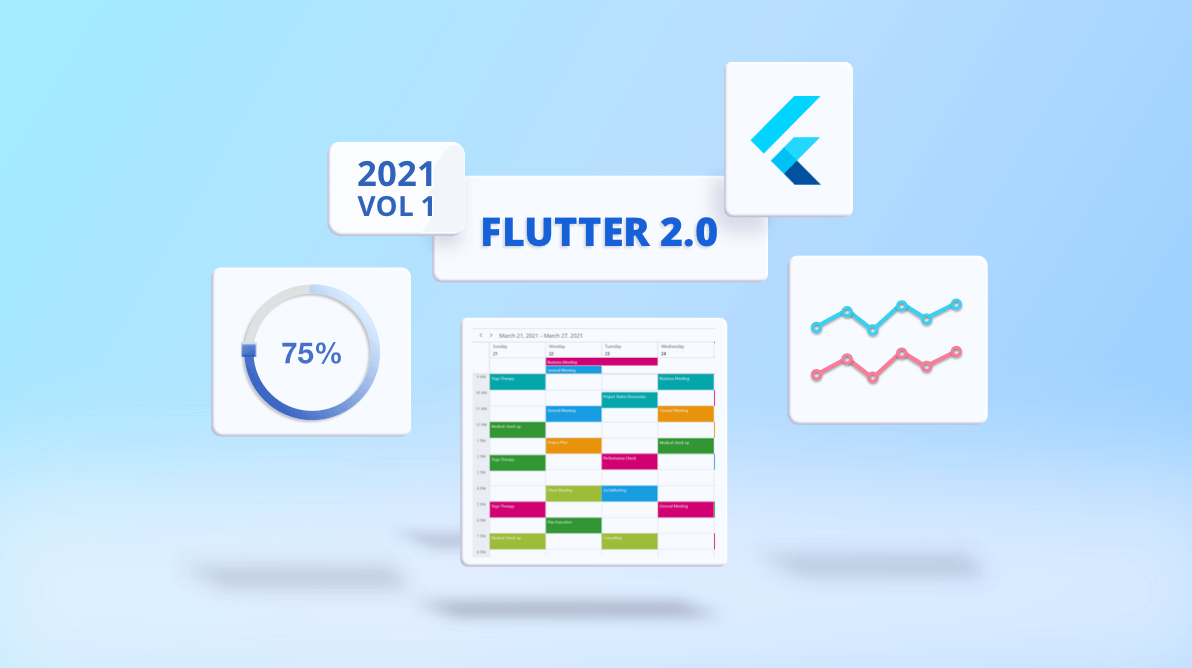 Exploring Flutter 2.0 Support for Syncfusion Flutter Widgets and What's New in 2021 Volume 1 Release [Webinar Show Notes]