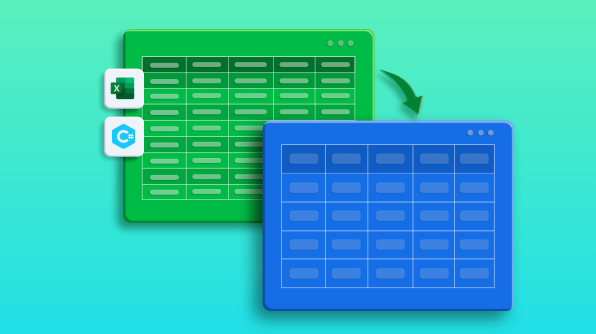 Export Data from Excel to Data Tables with Customization in C#