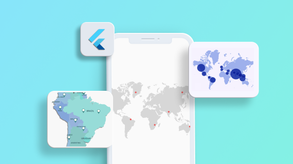 How to Add Animated and Interactive Custom Map Markers in Flutter Maps