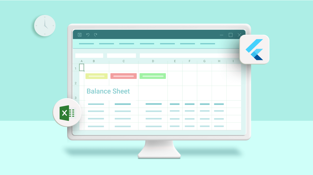 How to Create a Balance Sheet Using Flutter Excel Library