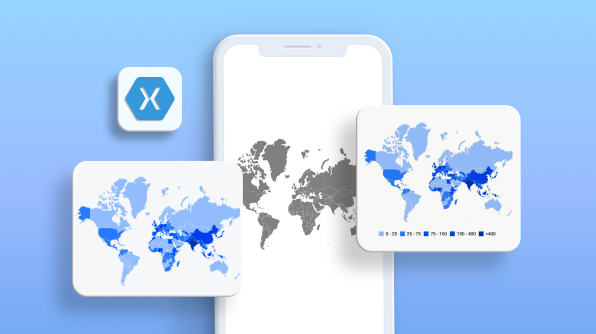 How to Create a Choropleth Map in a Xamarin Application