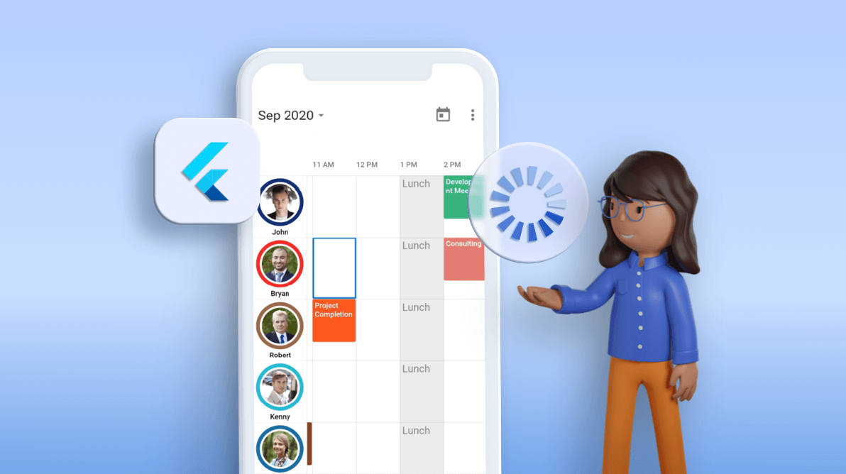 How to Load More Data on Demand in Flutter Event Calendar