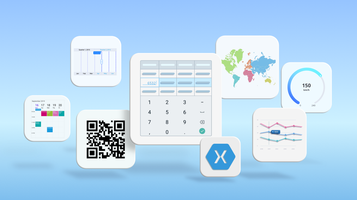 Overview of the Best and Popular Xamarin.Forms controls