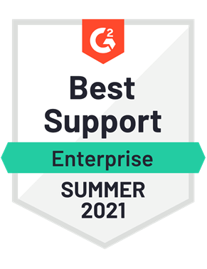 Best Support, Enterprise- Summer 2021