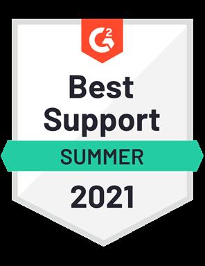 Best Support- Summer 2021