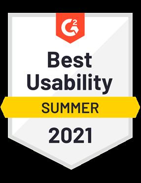 Best Usability- Summer 2021