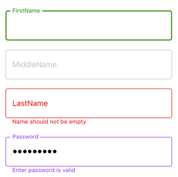 Color Customizations in Xamarin.Forms DataForm